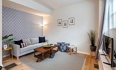 Living Room, 2061 Kater St B, 1