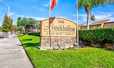 Community Signage, Brookhollow Apartments, 2