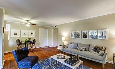 Living Room, Amber Ridge Apartments, 0