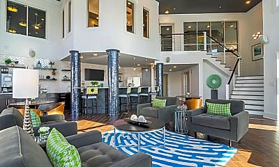 Clubhouse, Meridian at Sutton Square Apartments, 1
