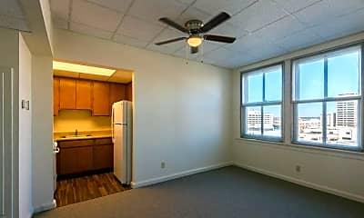 Living Room, Jefferson Davis Apartments, 2