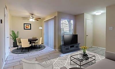Living Room, 4601 Carlisle Blvd NE B3, 0