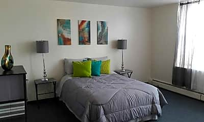 Bedroom, Midwest Apartments, 2