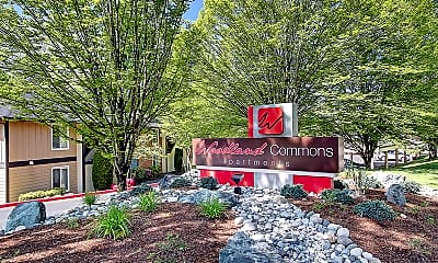 Community Signage, Woodland Commons, 1