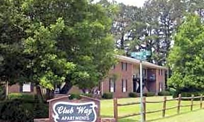 Building, Club Way Apartments, 0
