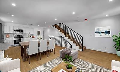 Living Room, 229 N Park View St B, 1