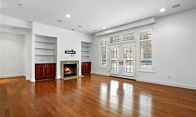 Living Room, 7518 Parkdale Ave 102, 1