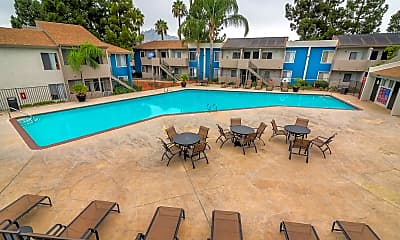 Pool, Shadow Point Apartments, 0