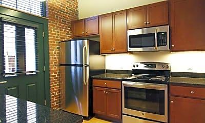 Kitchen, Lofts at Perkins Park, 0