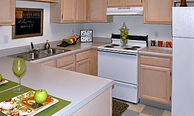 Kitchen, Village Gate Apartments, 1