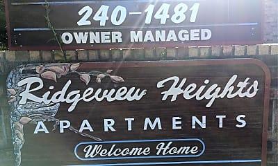 Ridgeview Heights, 1