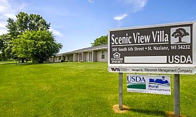 Community Signage, Scenic View Villas, 2