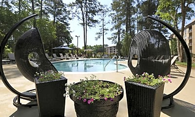 Pool, The Towers at Forest Acres, 0