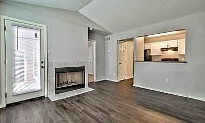Living Room, 9940 Forest Ln, 1