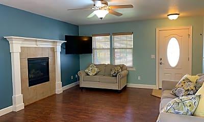 Living Room, 1228 Island Way, 1