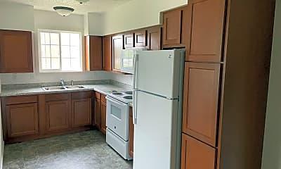 Kitchen, 1605 Collins St, 1