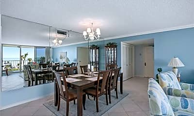 Dining Room, 10701 Gulf Shore Dr 302, 1