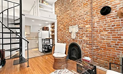 Living Room, 126 Willoughby Ave PARLOR, 1