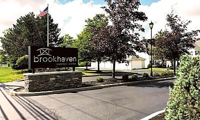 Community Signage, Brookhaven Apartment Homes, 2