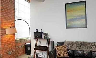 Bedroom, Metro Lofts, 2