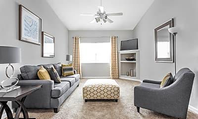 Living Room, Lenoxplace At Garner Station, 0