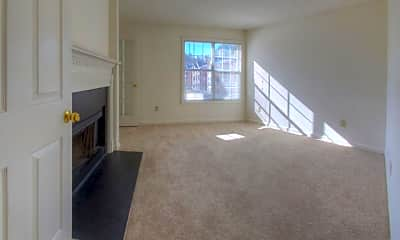 Living Room, The Crest at Berkeley Lake Apartment Homes, 2