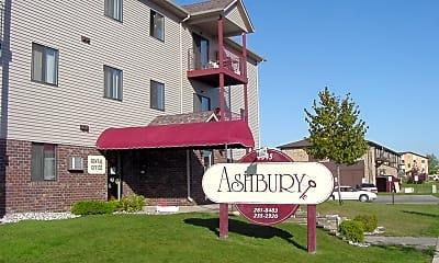 Community Signage, Ashbury Apartments, 0