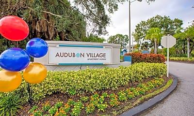 Community Signage, Audubon Village, 0