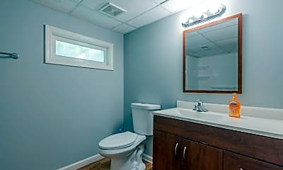 Bathroom, Room for Rent -  a 4 minute walk to bus 51, 1