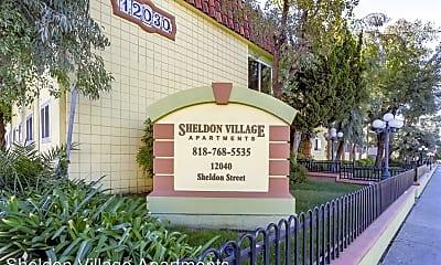 Community Signage, 12040 Sheldon St, 1