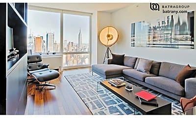 Living Room, 600 W 42nd St, 1