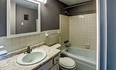 Bathroom, The Bricks at 6888, 2