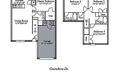 Building, 1424 Greensboro Dr, 2