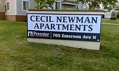 Cecil Newman Plaza, 1