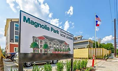 Community Signage, Magnolia Park Apartments, 2