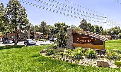 Community Signage, Copper Flats Apartments, 2
