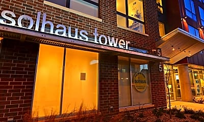 Community Signage, Solhaus Apartments + Tower, 2