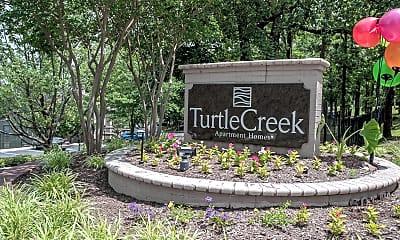 Community Signage, Turtle Creek, 2