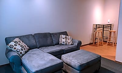 Living Room, 507 E White St, 2