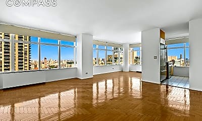 Living Room, 160 W 66th St 36-D, 0