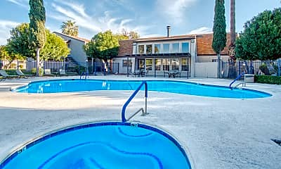 Pool, Somerpointe Apartments, 1