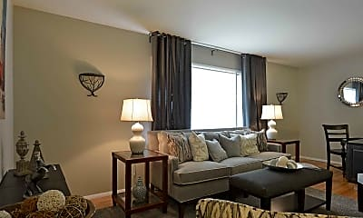 Living Room, Westerlea Apartments, 1