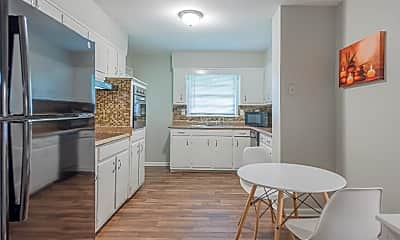 Kitchen, Room for Rent -  a 6 minute walk to bus 34, 1