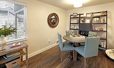 Dining Room, Starboard Apartments, 1