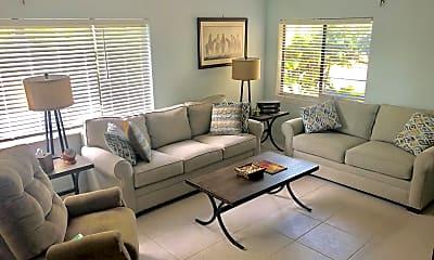 Living Room, 1550 Florida A1A A1A 4, 1