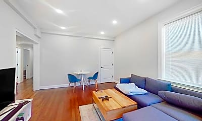 Living Room, 2017 Commonwealth Ave., #4, 1