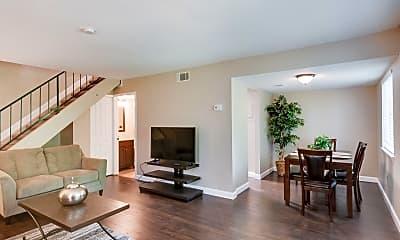 Living Room, 3985 N Quail Ln, 1