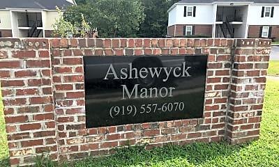 Ashewyck Manor Apartments, 1