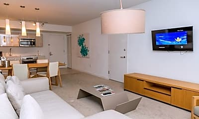 Living Room, 2602 E Hallandale Beach Blvd R2209-A, 1
