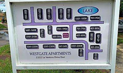 Westgate Apartments, 1